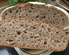 Wheat-rye bread with sourdough - a wonderfully juicy bread! Pumpkin Recipes Healthy Easy, Canned Pumpkin Recipes, Pumpkin Muffin Recipes, Pumpkin Chocolate Chip Bread, Pumpkin Bread, Apple Bread, Best Pumpkin Muffins, Rye Bread, Sourdough Bread