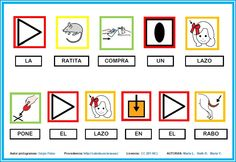 MATERIALES - Cuentos clásicos con pictogramas.    Adaptación de los cuentos clásicos on los símbolos pictográficos de ARASAAC (La ratita presumida, Caperucita roja, Los tres cerditos, etc.).    http://www.catedu.es/arasaac/materiales.php?id_material=247
