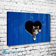 Cat Love Tablo #hayvan_tabloları