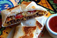 How to Make Taco Bells Crunchwrap Supreme at Home