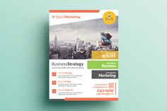 Creative Corporate Flyer V6 by KhidD on Creative Market