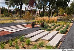 Frederic Schwartz Architects and Ken Smith Landscape Architecture, won an Urban Design Honor Award for The Santa Fe Railyard Park and Plaza; Santa Fe, New Mexico 2002-2008