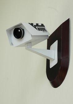 free template! CCTV camera