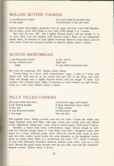 Vintage Recipes: 1964 Cakes, Cookies and Frostings Retro Recipes, Old Recipes, Vintage Recipes, Cookbook Recipes, Family Recipes, Thyme Recipes, Xmas Recipes, Cookie Desserts, Cookie Recipes