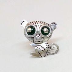Nártoun #zvíře #brož #stříbro #šperk #animal #brooch #broach #silver #jewellery