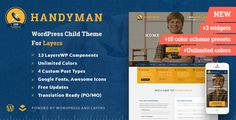 Handyman - Craftsman Business WordPress Theme - Business Corporate