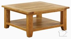 1m by 1m large square coffee table. Heritage square coffee table - £195.00 - A fantastic range of Heritage (Oak) from Listers Interiors | Bedding, Curtains, Furniture, Accessories & more