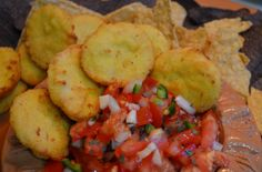 Add Saffron Road's chicken nuggets to your next party platter- they're great with dips and salsas like pico de gallo. www.saffronroadfood.com