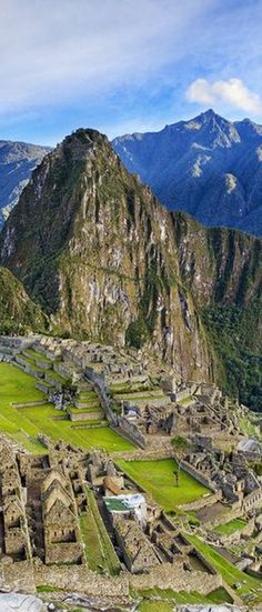 Catch a glimpse of Machu Picchu in #Peru.