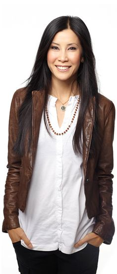 Lisa Ling - another journalist I love. Her new show Our America on OWN.  She is sharp & insightful, and covers her subjects in a unique way.