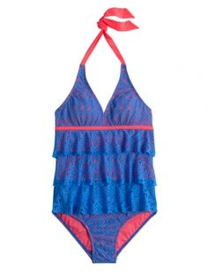 Crochet One Piece Swimsuit | Girls Web Exclusives Hot Shops | Shop Justice $14.40