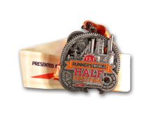 Runner's World Half Marathon Run Medal Design