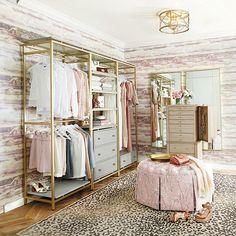 Spare Room Closet, Wardrobe Room, Closet Bedroom, Closet Wall, Spare Room Wardrobe Ideas, Master Closet, Closet Space, Dressing Room Decor, Dressing Room Closet