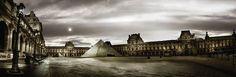 Panoramic - Le Louvre - Paris by Stéphane REY-GORREZ