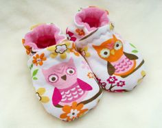 Baby owl shoes