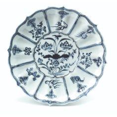 Yuan Dynasty ceramics dish- Shanghai Museum.