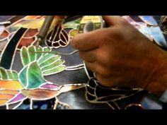 Dichroic Stained Glass soldering 001b