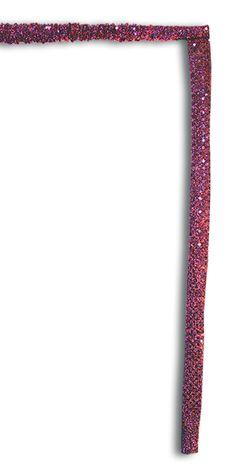 Pink sparkles scrunchie