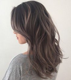 Ash Brown With Subtle Silver Highlights