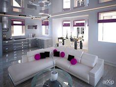 студия #3dvisualization #interior