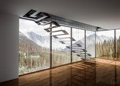 25 idées d'escaliers muraux design pour votre intérieur - Visit the website to see all pictures http://www.amenagementdesign.com/decoration/idees-escaliers-muraux-design/