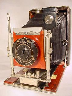RARE 1909 ICA IDEAL DOUBLE EXTENSION CAMERA Vintage German Old Antique Classic | eBay