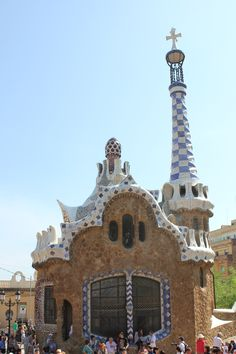 Gingerbread House, Guell Parc Barcelona