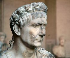 "Trajan - the 13th Emperor of Rome, and the first from the provinces. Trajan was the second of the ""five good emperors"". He expanded the empire to its largest boundaries."