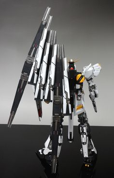 Name : RX-93 ν GUNDAM EVOLVE 5 Scale : MG, 1/100 Brand : BANDAI + VP Model MG Conversion Purpose : Order Date Completed : Sep, 2012 ...