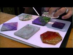 Video: doming your resin pieces #Resin