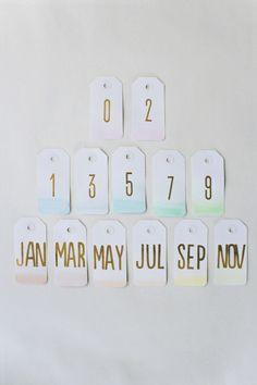 diy calendrier ombré5