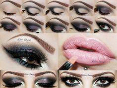 Tutorial de maquiagem e dicas de maquiagem: Tutorial de Maquiagem por Melissa Samways