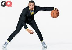 """Steph Curry Team: Golden State Warriors  On-the-Court Style: """"There's always some new creative shot I can work on to add to my game. Last ye..."""