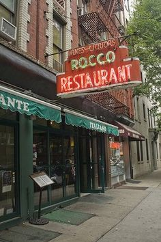 Rocco, 181 Thompson Street in Greenwich Village
