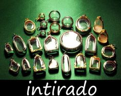 Shadow Box Pendant Clear Lockets Terrarium Necklace by Intirado