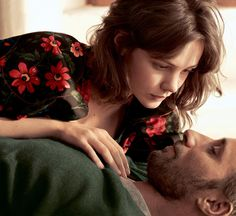 Carey Mulligan & Matthias Schoenaerts by Mikael Jansson for Vogue US May 2015