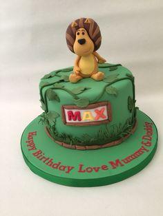 Ra ta the noisy lion cake