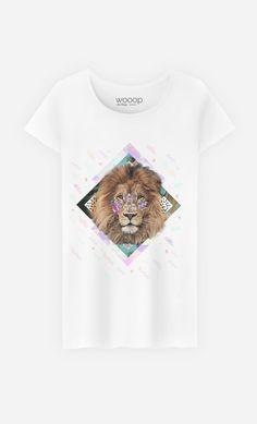 T-Shirt Femme Isilwane by Kris Tate - Art Shop - Wooop.fr