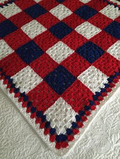 Crochet Quilt Pattern, Crochet Ripple Blanket, Granny Square Crochet Pattern, Crochet Blanket Patterns, Manta Crochet, Crochet Baby, Knit Crochet, Holiday Crochet, Crocheting