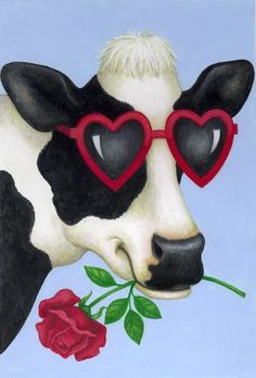 """Cow In Love,"" Stephanie Stouffer"