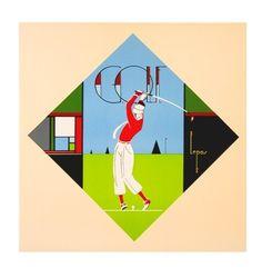 Lepas - Golf 1930's Art Gallery :: Celebrity Art, Originalss, Paintings, Lithographs, Reproductions, Artwork Movie Posters & Fine Art