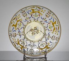 Hand-Painted Fifty-One-Piece Luncheon Set by Vittorio Zecchin for Murano Glass 6