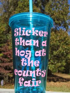 You could win this cute tumbler, Now.