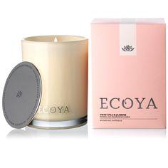 Ecoya - Sweet Pea & Jasmine Madison Jar Candle | Peter's of Kensington