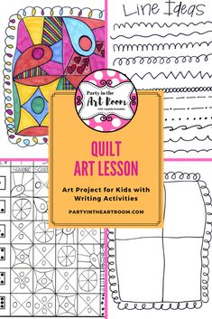 Art lesson with language (writing) activities. No-prep art projects are perfect for your art sub tub. Super easy to implement for substitute teachers. Plus, the engagement will help with behavior! Perfect to start your art integration activities or to use as mini-lessons in larger units. Use as writing prompts and center printables. Great for homeschooling, language arts teachers, and art teachers alike. This resource is adaptable across multiple grade levels. Differentiation ideas included.