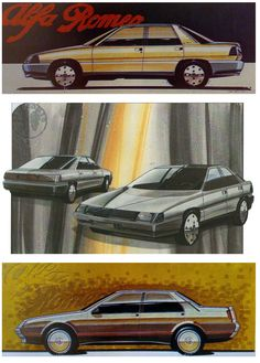 Alfa Romeo Various Sketches