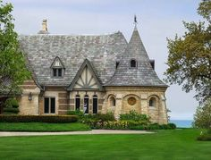 I think this may be one of the most beautiful, whimsical, and desirable houses I've ever seen! LOVE it.