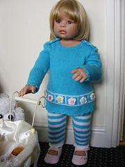Ravelry: Daisy May Outfit Knitting Pattern pattern by maybebaby designs
