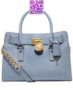 MICHAEL Michael Kors Hamilton Saffiano Leather East West Satchel - Handbags  Accessories - Macys
