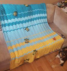 Sea turtle baby blanket